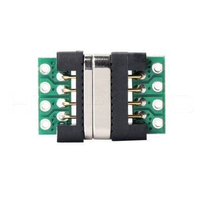 Positive 4 Pogo pin magnetic pcb connectors M417P