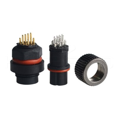 10PIN board wire power waterproof connector DC-010