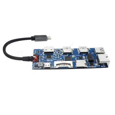 4 port usb 3.0 with card reader pcb circuit board H09
