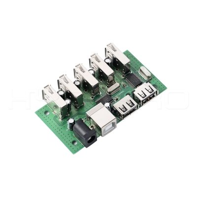 PCB manufacturer 7port usb 2.0 hub pcba with PD H22