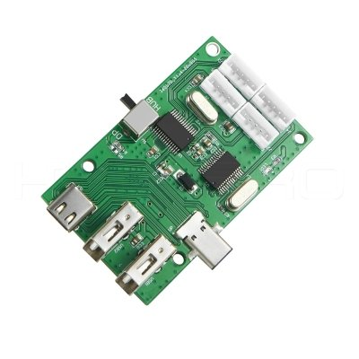 Multi-USB3.0 connector DP function type C hub PCB H923