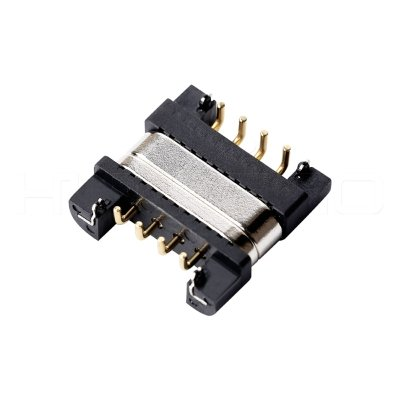 Positive 4 pogo pin magnetic charger connector M411P