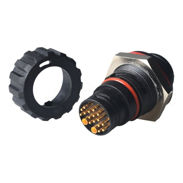 18Pin round IP68 IP67 waterproof battery connector DC-018