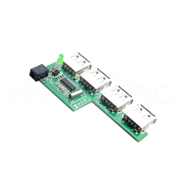 4port fast charger usb 3.0 power hub pcb assembly H26